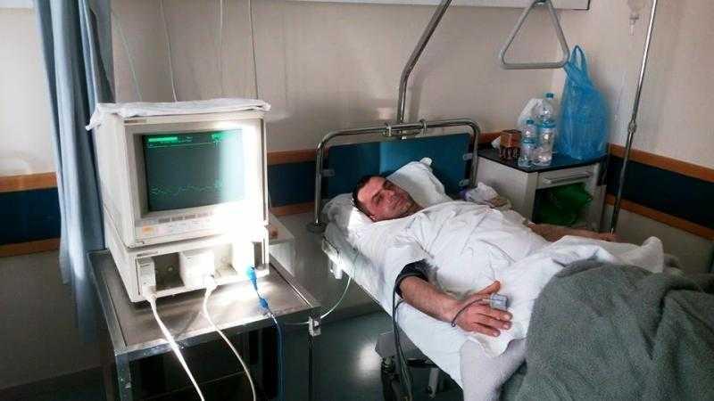 Ευχές για ταχεία ανάρωση στόν Κ. Μπουμπούκη