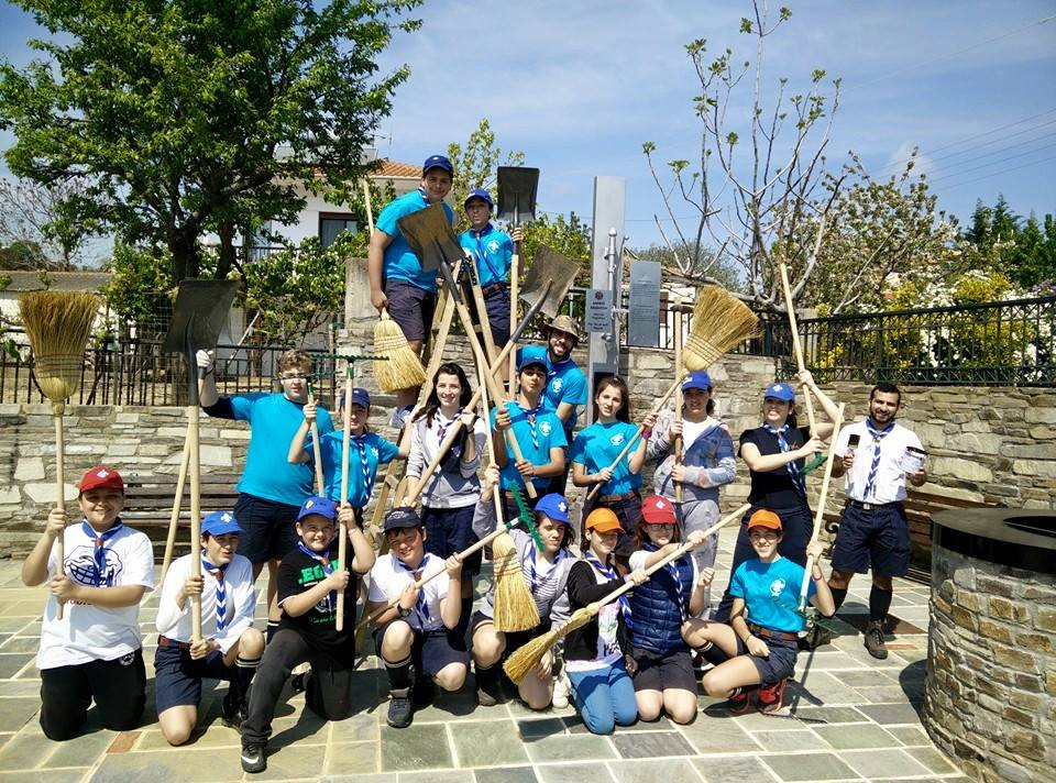 """Οι Πρόσκοποι της Ξάνθης συμμετείχαν στο """"Let's Do it Greece""""  26 Απριλίου, Μονοπάτι της Ζωής & Άβδηρα Ξάνθης"""
