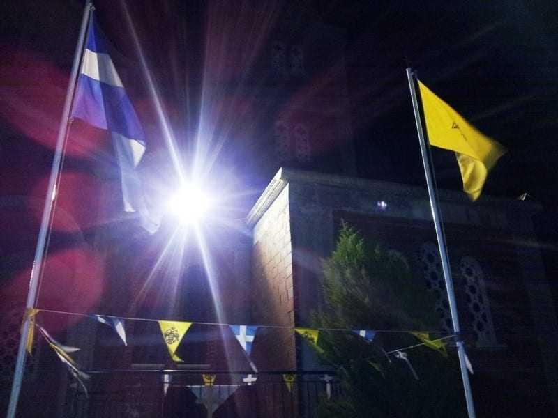 Ανάσταση στην ενορία των Αγίων Ραφαήλ, Νικολάου και Ειρήνης στην Ξάνθη