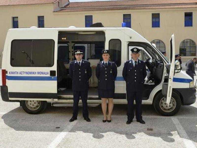Ας ελπίσουμε ότι οι αστυνομικοί δεν θα βάζουν βενζίνες από την τσέπη τους