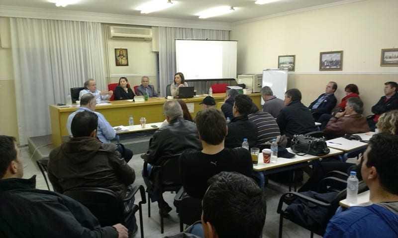 Συνάντηση ΓΣΒΕΕ με την ΟΕΒΕ Ξάνθης