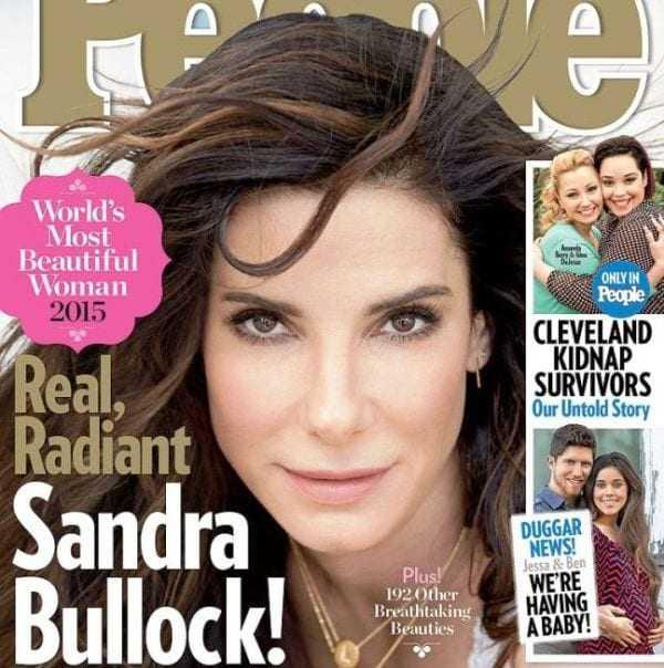 Σάντρα Μπούλοκ η ποιο όμορφη γυναίκα της χρονιάς