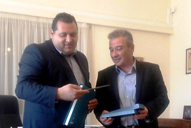 Επίσκεψη Πρέσβη και Γ. Προξένου της Κύπρου στον Δήμαρχο Ξάνθης
