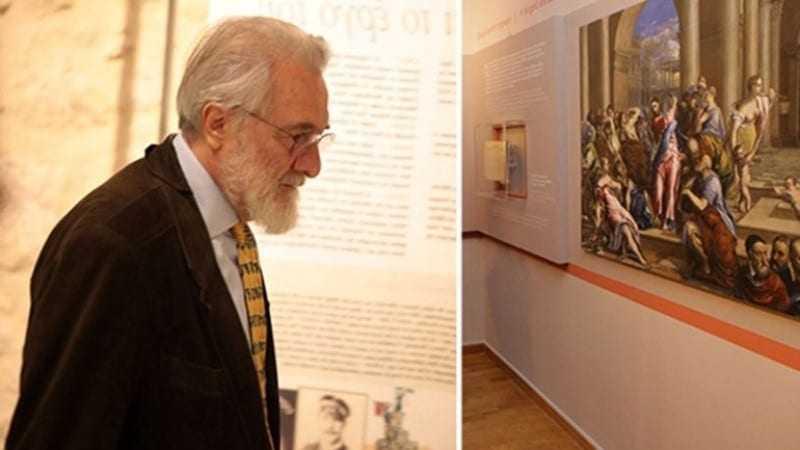 Ο Γιάννης Σμαραγδής αποσύρει την έκθεση «El Greco»