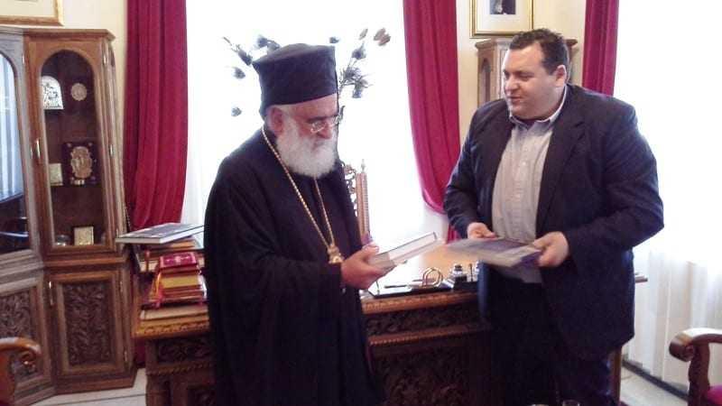Ο Πρέσβης της Κυπριακής Δημοκρατίας κ. Κυριάκος Κενεβέζος επισκέφθηκε τη πόλη της Ξάνθης :