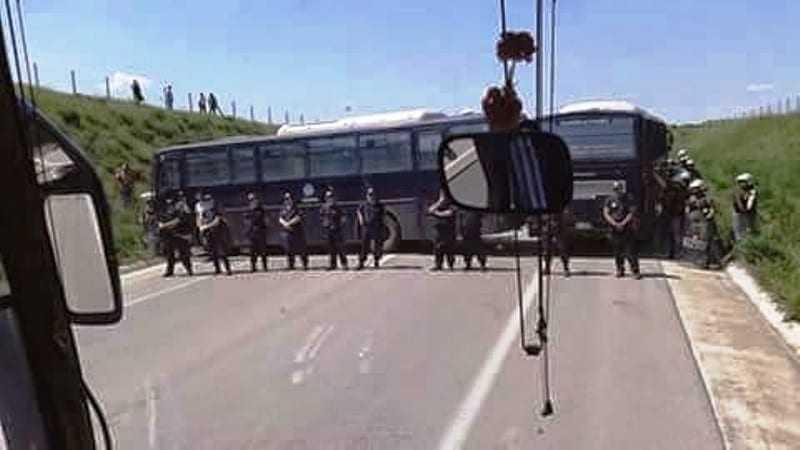Πορείες στην Ορεστιάδα ενάντια στο φράχτη του Έβρου με ισχυρή παρουσία MAT