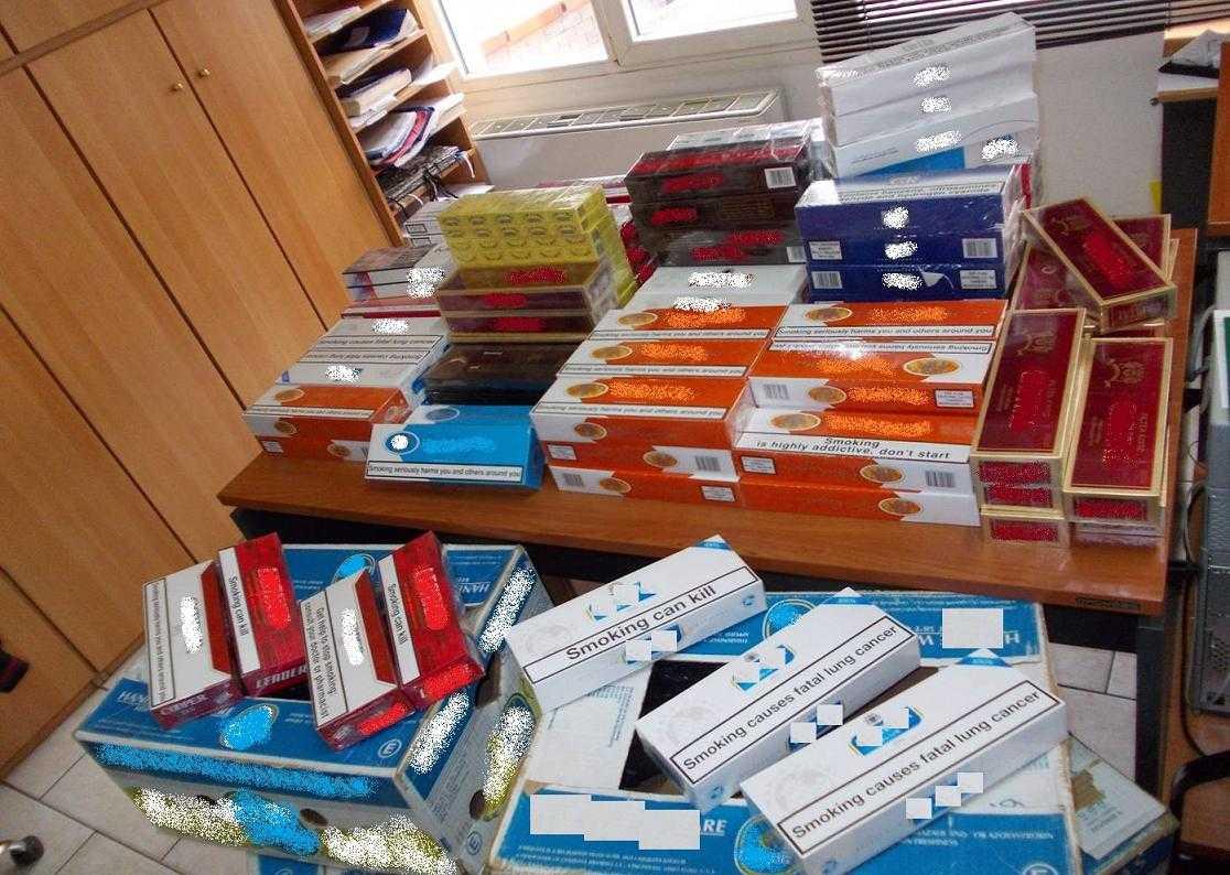 Σύλληψη στην Ξάνθη  για κατοχή λαθραίων τσιγάρων