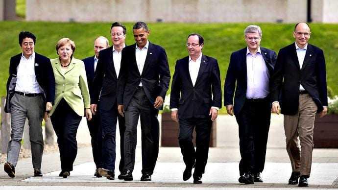 Η σύνοδος της «Ομάδας των 7» αντιμέτωπη με πλειάδα κρίσεων, υπό τη σκιά του Πούτιν