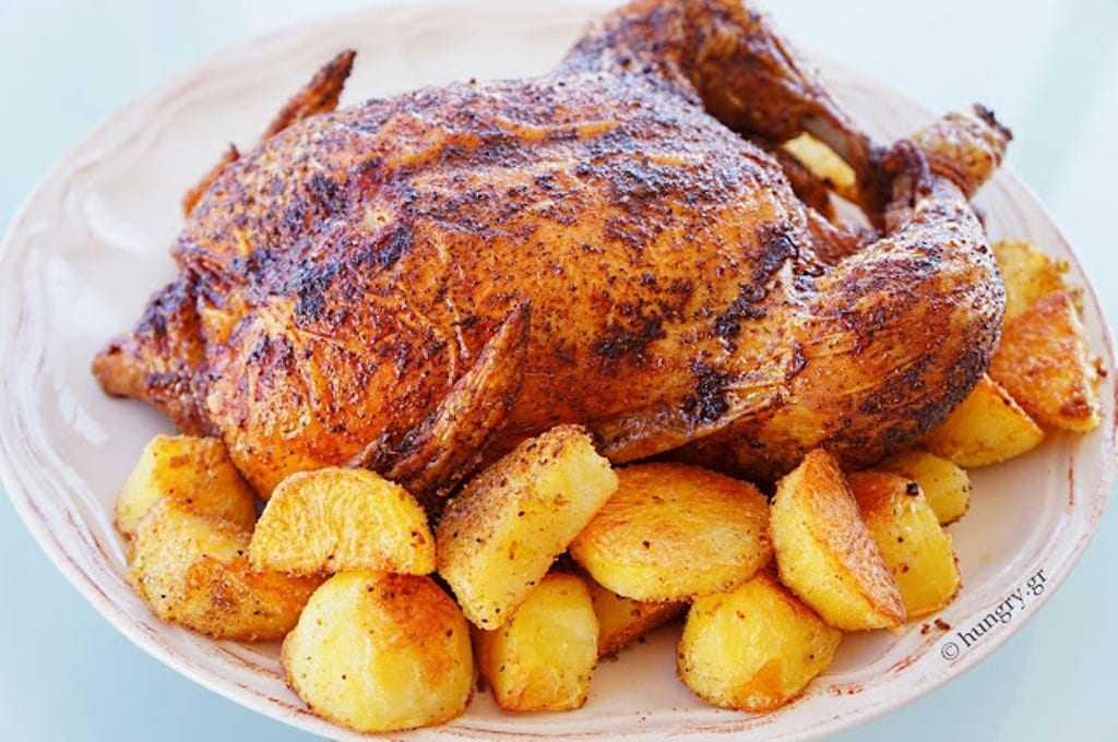 Τέλειο ζουμερό κοτόπουλο