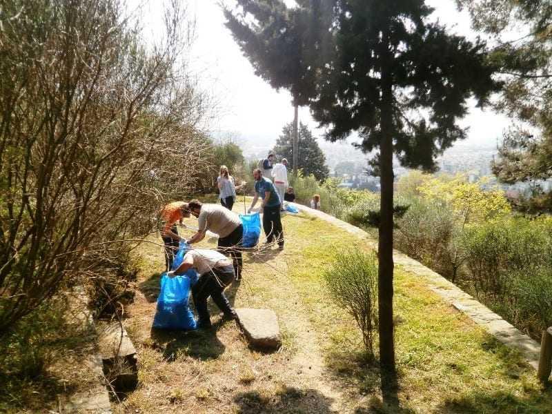 Οι κυνηγοί συμμετέχουν στην παγκόσμια ημέρα περιβάλλοντος