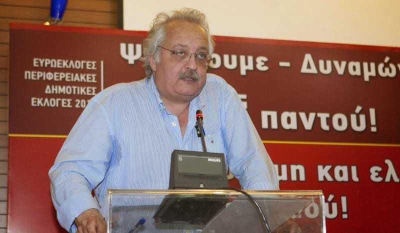 Ο Σ. Ζαριανόπουλος στην Ξάνθη