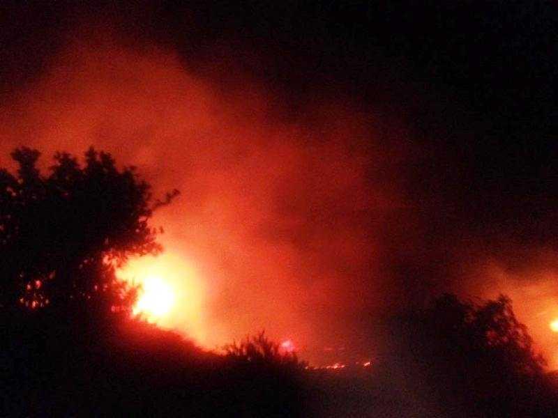 Πυρκαγιά στην Σαμοθράκη