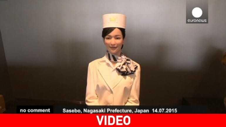 Ιαπωνία: Ξενοδοχείο που λειτουργεί εξ ολοκλήρου από… ρομπότ