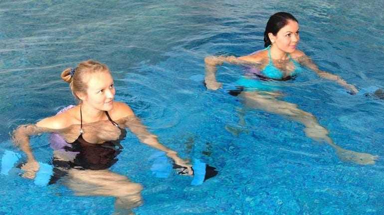 Η άσκηση στο νερό και τα οφέλη της