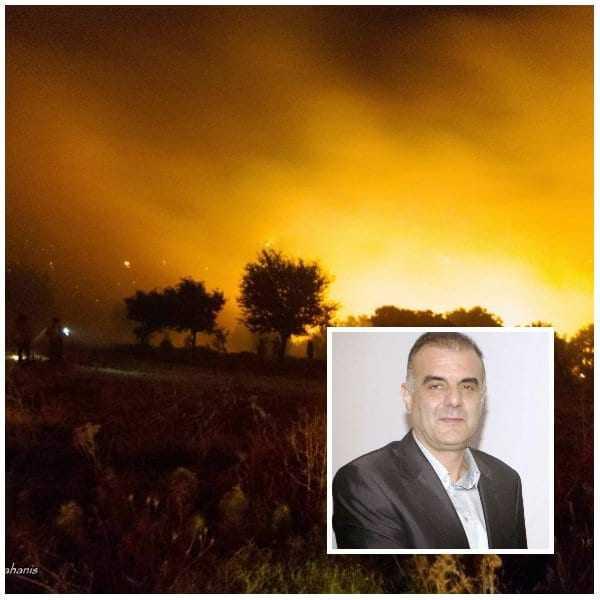 Απολογισμός της Πυρκαγιάς: 2000 στρέμματα στην Σαμοθράκη, ένα ξύλινο σπίτι, ένα ΙΧ στο Μυρωδάτο και ένα σπίτι στην Π. Τσαλδάρη