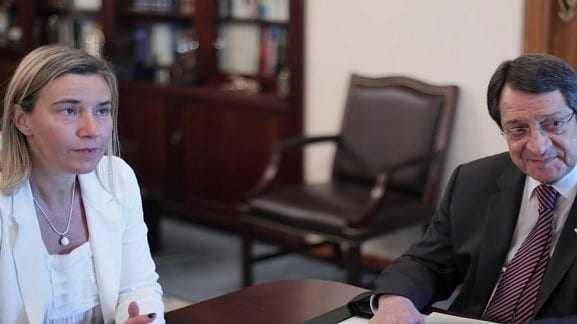 Φ. Μογκερίνι: Mεγάλης σημασίας για την ειρήνευση στη Μ. Ανατολή, ο ρόλος της Κύπρου