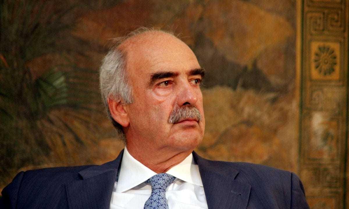 Τη σύγκληση της Ολομέλειας της Βουλής θα ζητήσει ο Β. Μεϊμαράκης