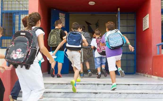 Στις 11 Σεπτεμβρίου ανοίγουν τα σχολεία