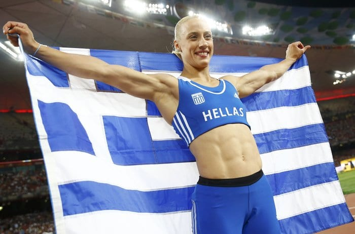 Η Κυριακοπούλου κατέκτησε το χάλκινο μετάλλιο