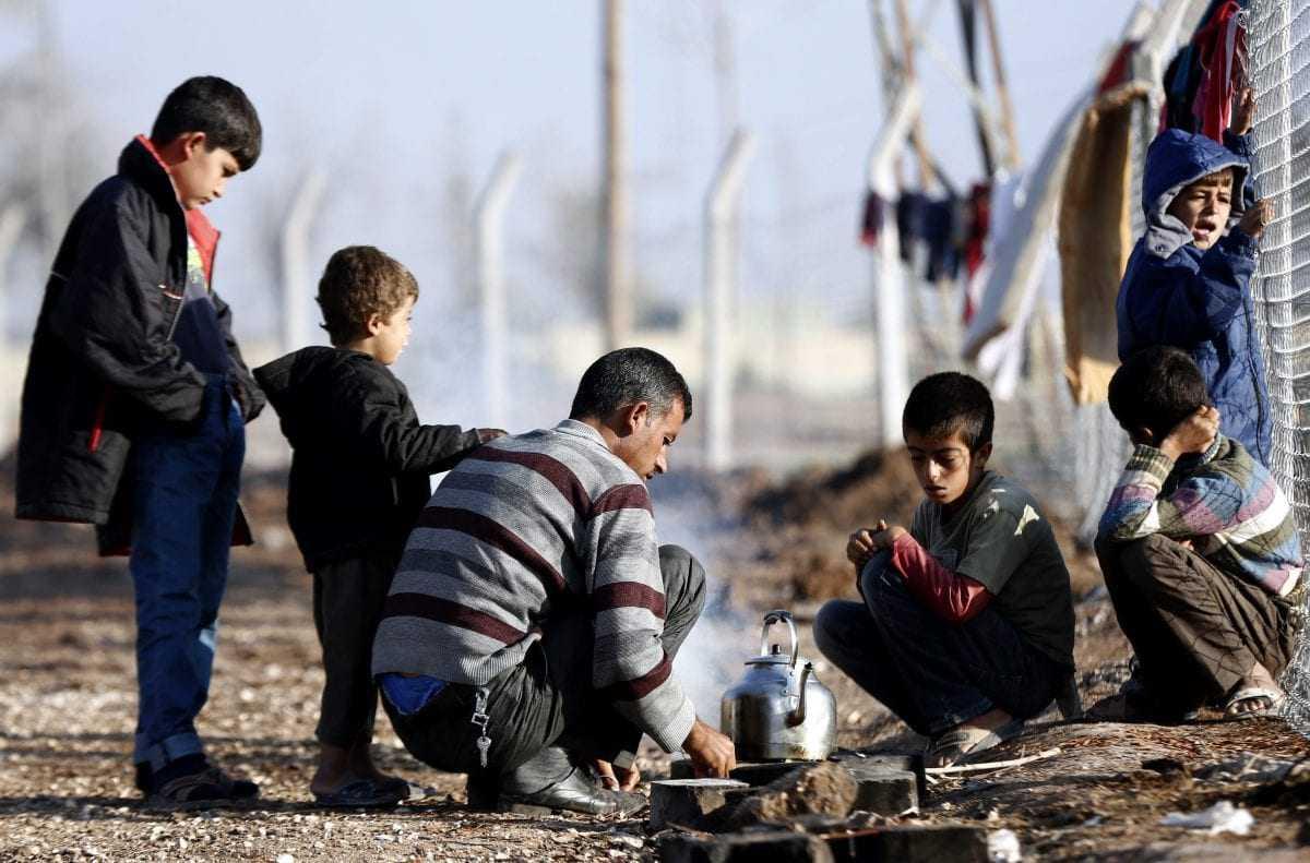 Οργανωμένος καταυλισμός για ολιγόωρη παραμονή προσφύγων στην ουδέτερη ζώνη Ελλάδας-ΠΓΔΜ