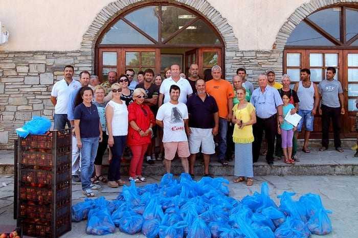 Διάθεση Ροδάκινων στον Δήμο Τοπείρου