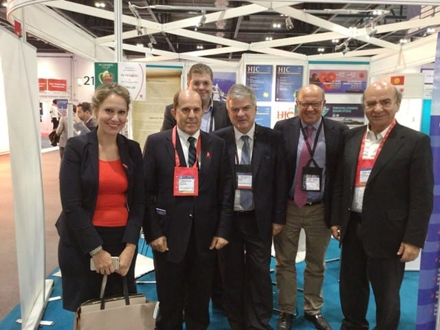 Διεύρυνση των διεθνών σχέσεων της Ελληνικής Καρδιολογικής Εταιρείας στο πλαίσιο του Ευρωπαϊκού Καρδιολογικού Συνεδρίου