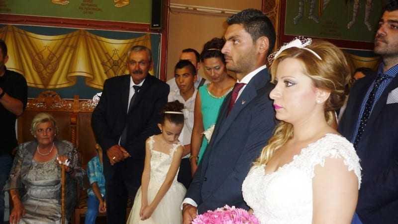 Παντρεύτηκε ο γιος του Τάσου Σαμλίδη.
