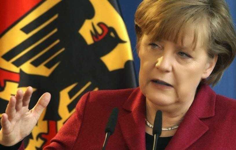 Η Μέρκελ δεν σχολιάζει θέματα εσωτερικής πολιτικής, όπως ο σχηματισμός της κυβέρνησης
