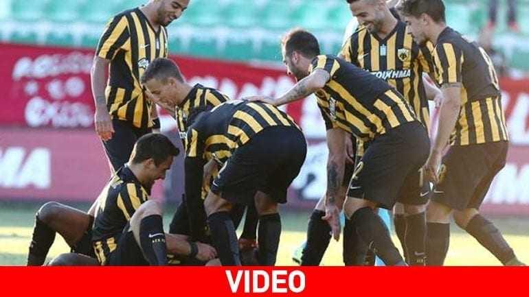 «Άλωσε» τα Πηγάδια η ΑΕΚ, 1-0 την Ξάνθη