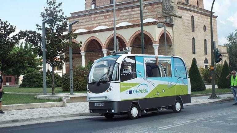 Έναρξη δοκιμών για τα αυτόματα οχήματα μαζικής μεταφοράς χωρίς οδηγό στα Τρίκαλα