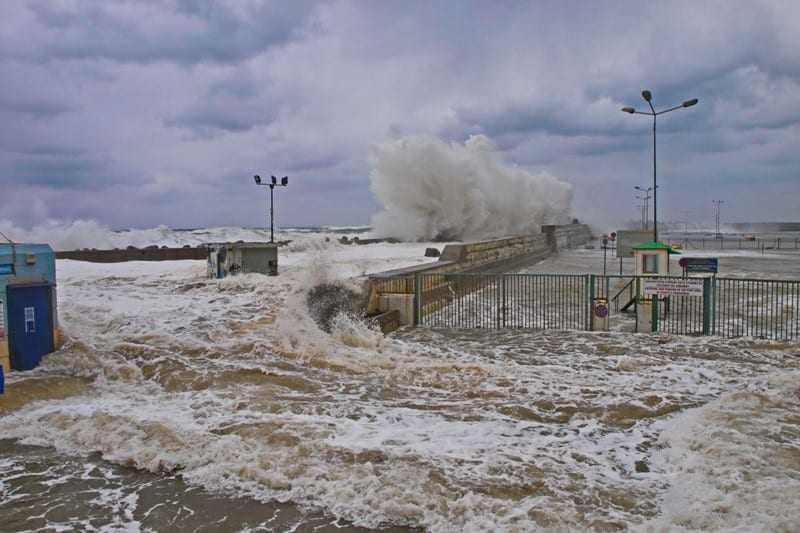 Θυελλώδεις άνεμοι στην θαλάσσια περιοχή Πόρτο Λάγος