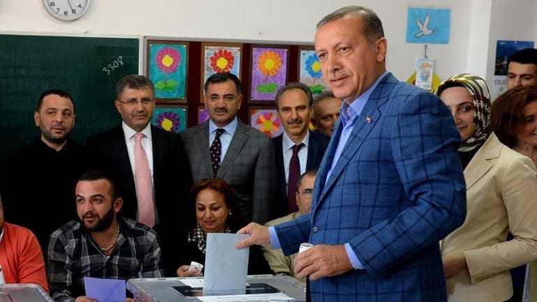 Αυτοδυναμία για το κόμμα Δικαιοσύνης και Ανάπτυξης του Ερντογάν