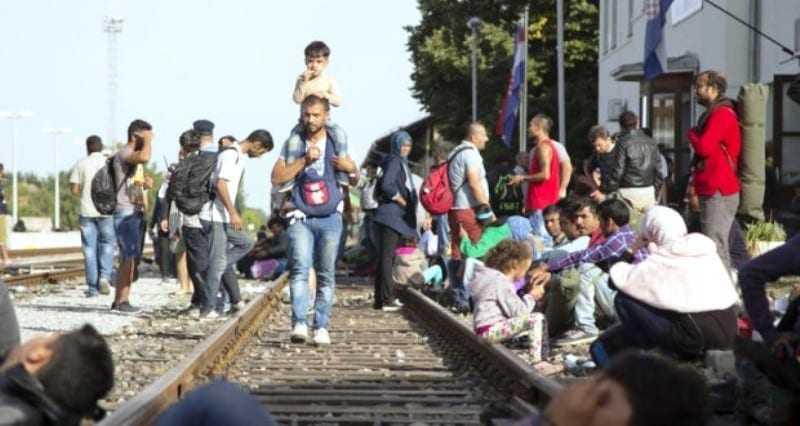 5χρονη προσφυγοπούλα παρέσυρε το τραίνο. Είναι νεκρή
