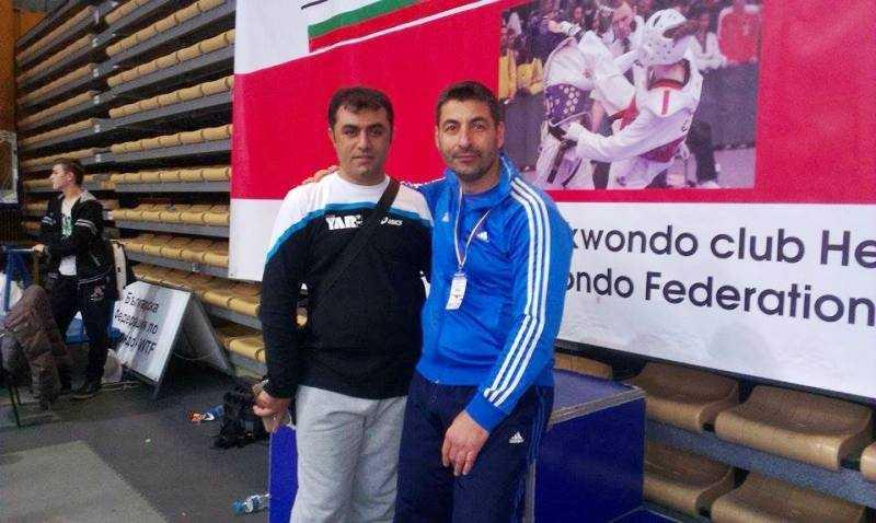 Στιγμιότυπο από την συνάντηση στους αγώνες TAE KWON DO στην Σόφια της Βουλγαρίας