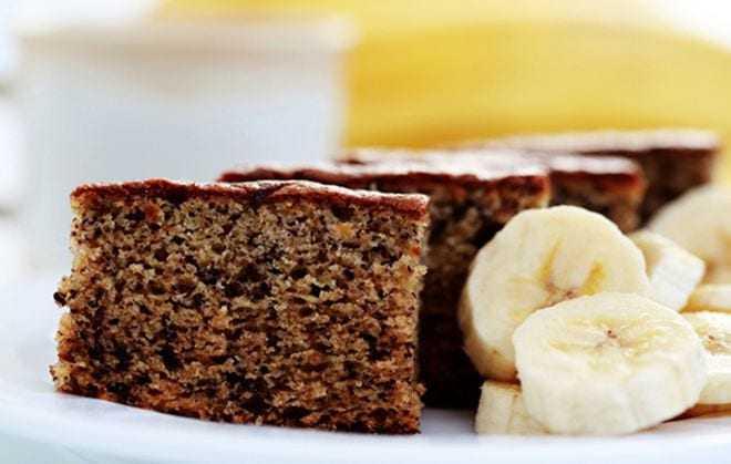 Φτιάξτε ένα αφράτο κέικ μπανάνας