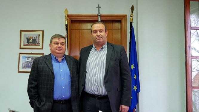 Επίσκεψη του Προέδρου της Πανελλήνιας Ένωσης Γενικών Γραμματέων Τοπικής Αυτοδιοίκησης στον Δήμαρχο Τοπείρου