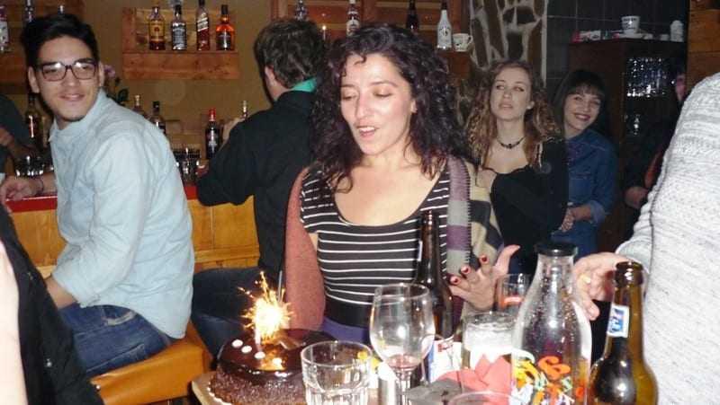 Τα γενέθλια της γιόρτασε η Μαρία Φυντανή
