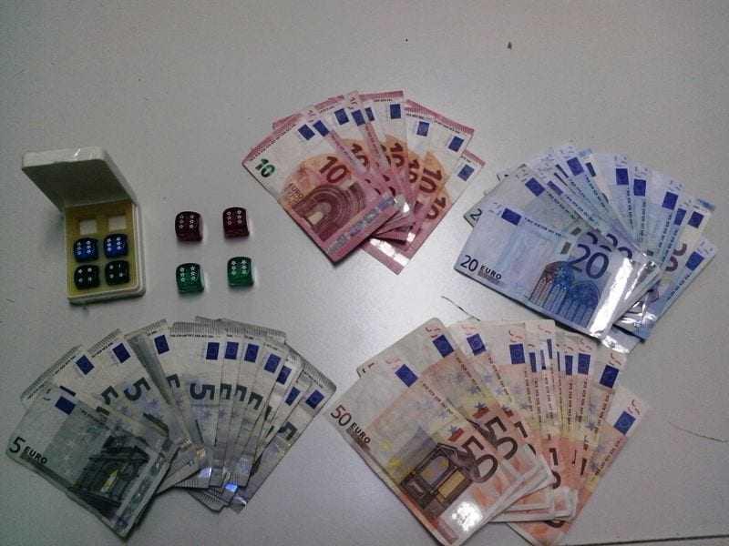Σύλληψη 7 στη Δράμα για παράνομα ζάρια