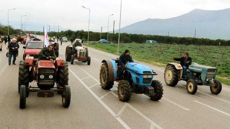 Κινητοποιήσεις αγροτών σε Ροδόπη και Ξάνθη
