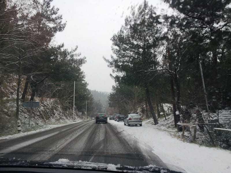 Η Περιφέρεια εφιστά την προσοχή, λόγω χιονόπτωσης.
