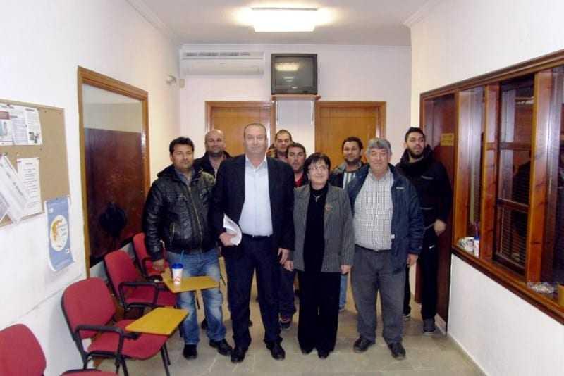 Επίσκεψη του Πολιτιστικού Συλλόγου ΡΟΜ Ευλάλου στον Δήμαρχο Τοπείρου