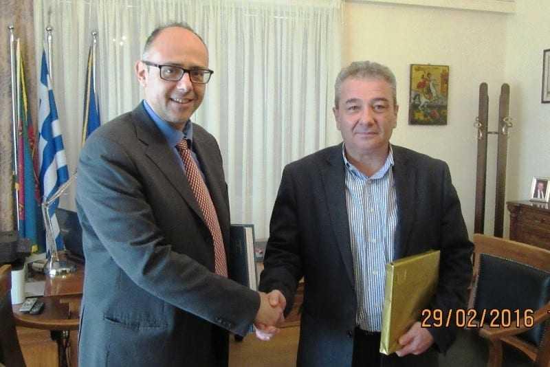 Επίσκεψη προξένου της Κύπρου στον Δήμαρχο Ξάνθης