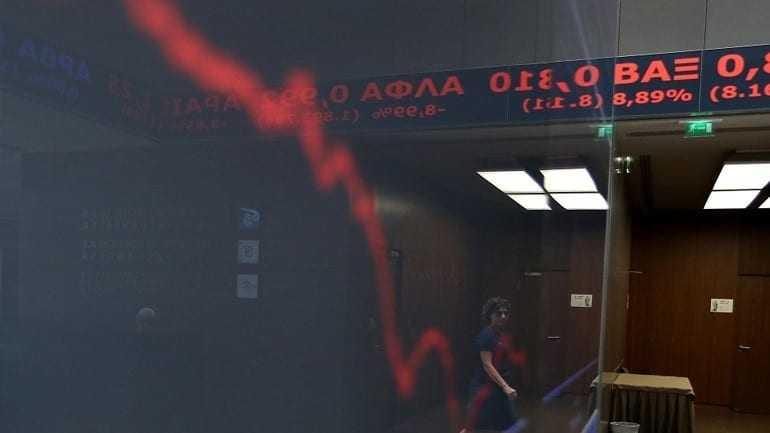 Με πτώση άνοιξε το Χρηματιστήριο Αθηνών