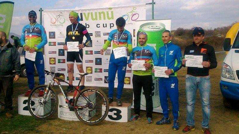 Πέντε Μετάλλια στο Πρώτο 3 Race MTB TUVUNU CUP 2016 στην Κομοτηνή.
