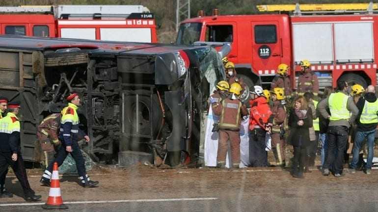Νέα στοιχεία για το δυστύχημα στην Ισπανία: Τουλάχιστον 13 φοιτήτριες νεκρές