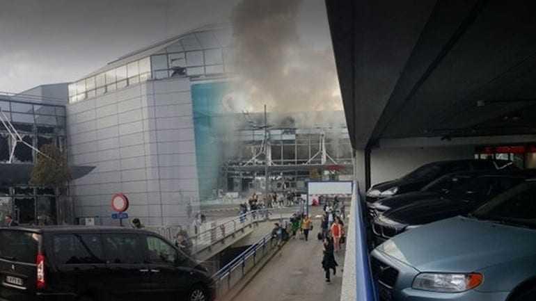 Eκρήξεις στο αεροδρόμιο των Βρυξελλών