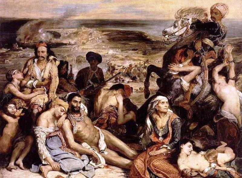 Η σφαγή της Χίου.