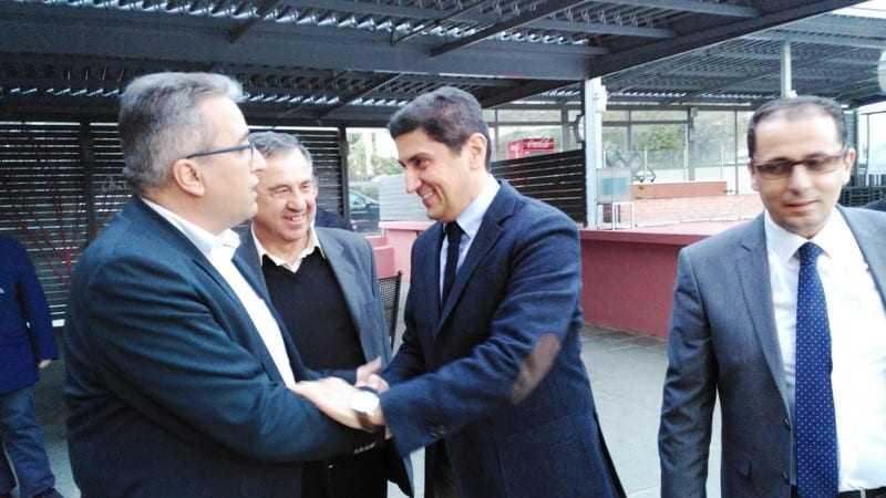 ΦΩΤΟΡΕΠΟΡΤΑΖ από την επίσκεψη του Λ. Αυγενάκη