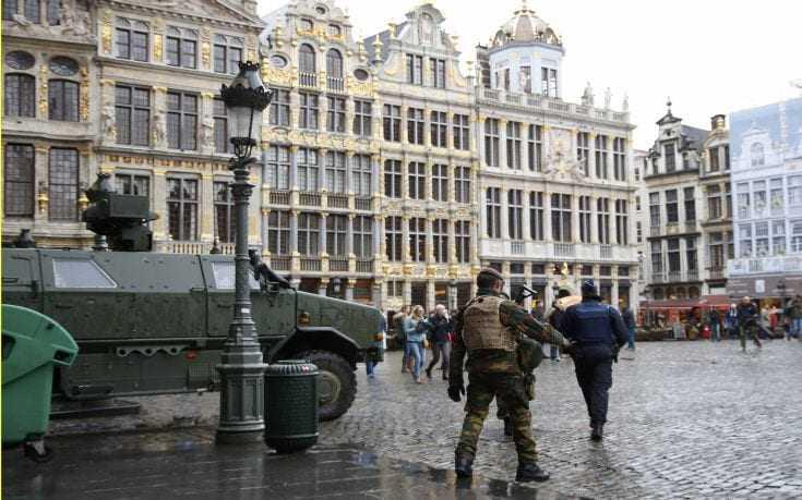 Μήνυμα για τρομοκρατία στις Βρυξέλες