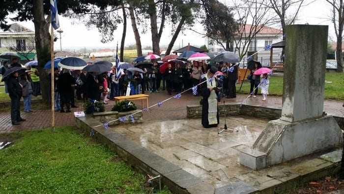 Εορτασμός Εθνικής Επετείου της 25ης Μαρτίου 1821 στον Δήμο Τοπείρου